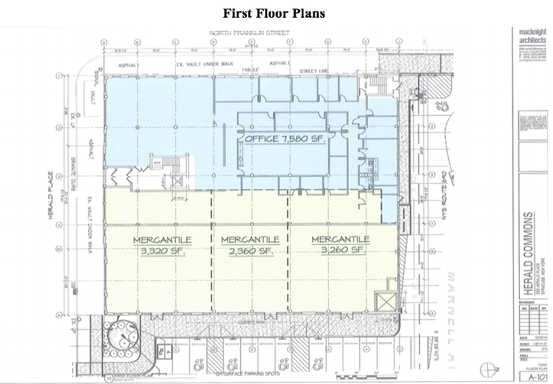 Office retail floor plans pricing horn companies llc for Retail building plans